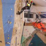 Dimostrazione teleferica CNSAS SudEst Climb