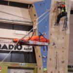 Dimostrazione barella teleferica CNSAS SudEst Climb